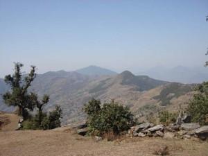 स्याङ्गजा र पर्वत जिल्लाको सिमाना